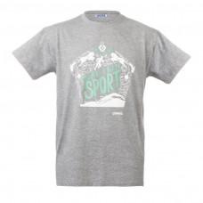 "Unisex T-Shirt - Grey ""More than a sport"""