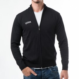 Men's Zipped Knitted Cardigan