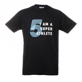 """Unisex T-Shirt - Black """"I'am a 5uperathlete"""""""