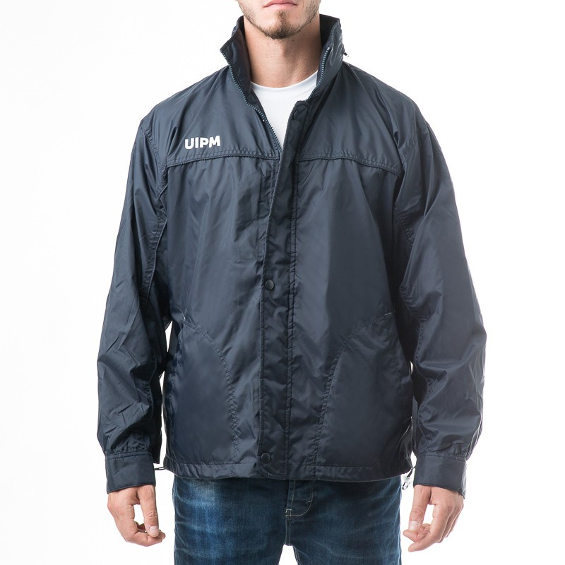 Jersey-Lined Waterproof Windbreaker