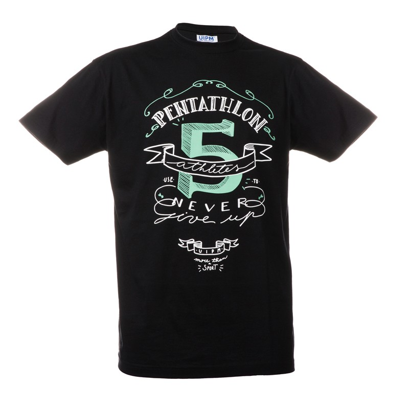 "Unisex T-Shirt - Black ""Pentathlon 5"""