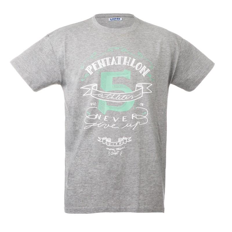 "Unisex T-Shirt - Grey ""Pentathlon 5"""