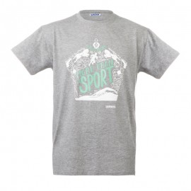 "Unisex T-Shirt - Grey ""More than a sport"""