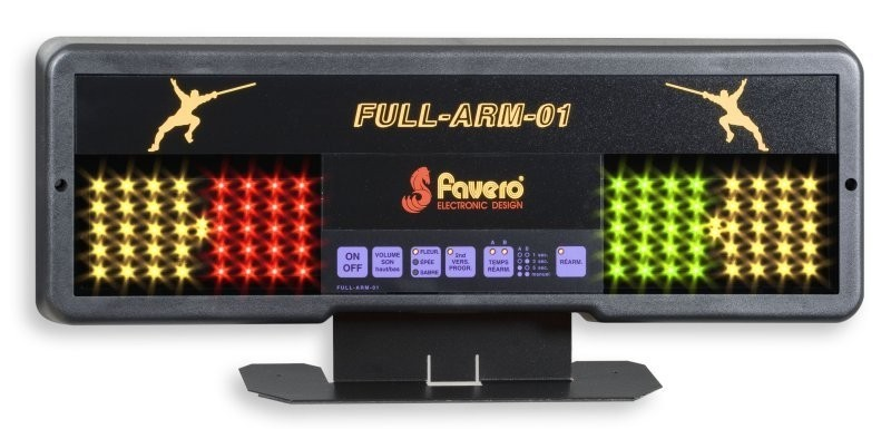 FAVERO FULL ARM 01: (TABLE-TOP MODEL)