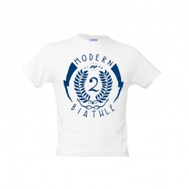 "Camiseta niño - Blanco ""Modern Biathle Kids"""