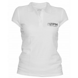 POLO WOMAN UIPM -  WHITE